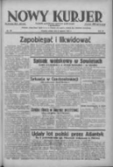 Nowy Kurjer: dziennik poświęcony sprawom politycznym i społecznym 1938.06.04 R.49 Nr127