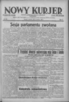 Nowy Kurjer: dziennik poświęcony sprawom politycznym i społecznym 1938.06.09 R.49 Nr130