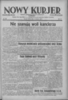 Nowy Kurjer: dziennik poświęcony sprawom politycznym i społecznym 1938.06.11 R.49 Nr132