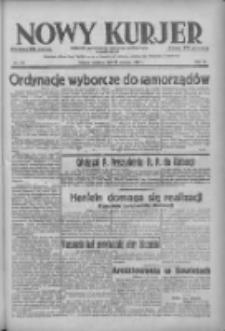Nowy Kurjer: dziennik poświęcony sprawom politycznym i społecznym 1938.06.12 R.49 Nr133