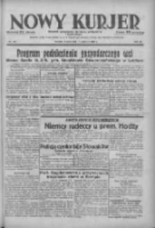 Nowy Kurjer: dziennik poświęcony sprawom politycznym i społecznym 1938.06.14 R.49 Nr134