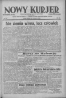 Nowy Kurjer: dziennik poświęcony sprawom politycznym i społecznym 1938.06.18 R.49 Nr137