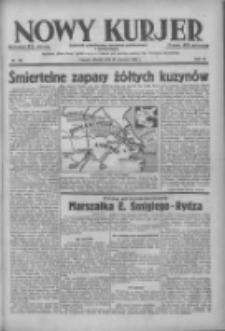 Nowy Kurjer: dziennik poświęcony sprawom politycznym i społecznym 1938.06.21 R.49 Nr139