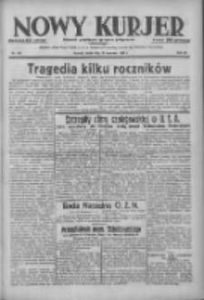 Nowy Kurjer: dziennik poświęcony sprawom politycznym i społecznym 1938.06.22 R.49 Nr140