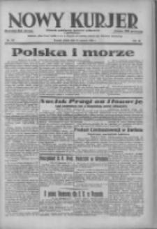 Nowy Kurjer: dziennik poświęcony sprawom politycznym i społecznym 1938.06.24 R.49 Nr142