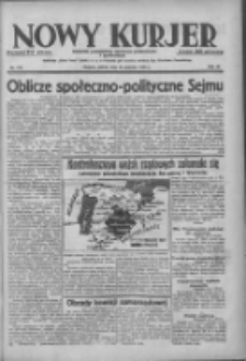 Nowy Kurjer: dziennik poświęcony sprawom politycznym i społecznym 1938.06.25 R.49 Nr143