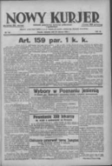 Nowy Kurjer: dziennik poświęcony sprawom politycznym i społecznym 1938.06.26 R.49 Nr144
