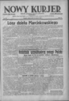 Nowy Kurjer: dziennik poświęcony sprawom politycznym i społecznym 1938.06.28 R.49 Nr145