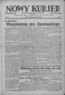 Nowy Kurjer: dziennik poświęcony sprawom politycznym i społecznym 1938.07.03 R.49 Nr149