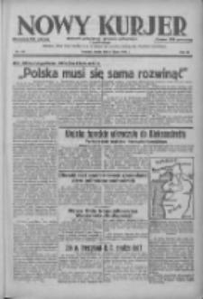 Nowy Kurjer: dziennik poświęcony sprawom politycznym i społecznym 1938.07.06 R.49 Nr151