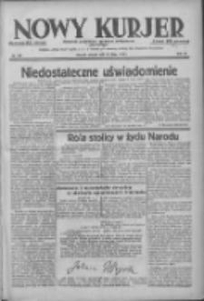 Nowy Kurjer: dziennik poświęcony sprawom politycznym i społecznym 1938.07.12 R.49 Nr156