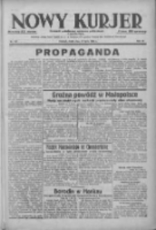 Nowy Kurjer: dziennik poświęcony sprawom politycznym i społecznym 1938.07.13 R.49 Nr157