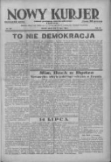 Nowy Kurjer: dziennik poświęcony sprawom politycznym i społecznym 1938.07.15 R.49 Nr159