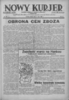 Nowy Kurjer: dziennik poświęcony sprawom politycznym i społecznym 1938.07.16 R.49 Nr160