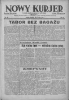 Nowy Kurjer: dziennik poświęcony sprawom politycznym i społecznym 1938.07.17 R.49 Nr161