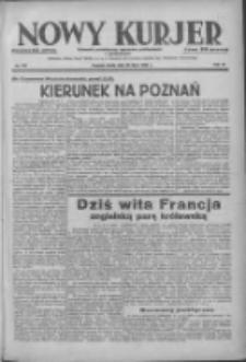 Nowy Kurjer: dziennik poświęcony sprawom politycznym i społecznym 1938.07.20 R.49 Nr163