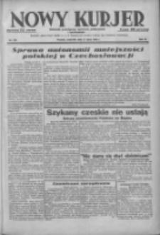 Nowy Kurjer: dziennik poświęcony sprawom politycznym i społecznym 1938.07.21 R.49 Nr164