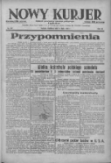 Nowy Kurjer: dziennik poświęcony sprawom politycznym i społecznym 1938.07.24 R.49 Nr167