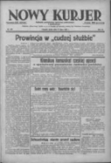 Nowy Kurjer: dziennik poświęcony sprawom politycznym i społecznym 1938.07.27 R.49 Nr169