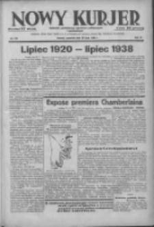 Nowy Kurjer: dziennik poświęcony sprawom politycznym i społecznym 1938.07.28 R.49 Nr170