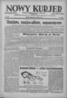 Nowy Kurjer: dziennik poświęcony sprawom politycznym i społecznym 1938.08.03 R.49 Nr175