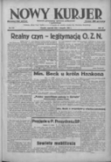 Nowy Kurjer: dziennik poświęcony sprawom politycznym i społecznym 1938.08.04 R.49 Nr176