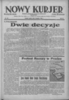 Nowy Kurjer: dziennik poświęcony sprawom politycznym i społecznym 1938.08.06 R.49 Nr178