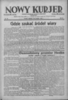 Nowy Kurjer: dziennik poświęcony sprawom politycznym i społecznym 1938.08.07 R.49 Nr179