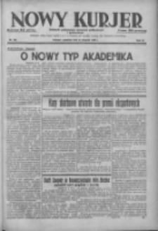Nowy Kurjer: dziennik poświęcony sprawom politycznym i społecznym 1938.08.11 R.49 Nr182