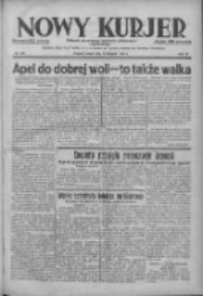 Nowy Kurjer: dziennik poświęcony sprawom politycznym i społecznym 1938.08.12 R.49 Nr183