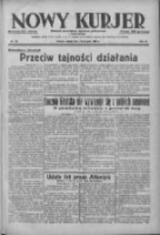 Nowy Kurjer: dziennik poświęcony sprawom politycznym i społecznym 1938.08.13 R.49 Nr184