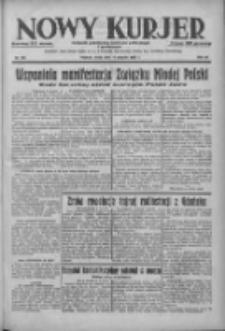 Nowy Kurjer: dziennik poświęcony sprawom politycznym i społecznym 1938.08.17 R.49 Nr186