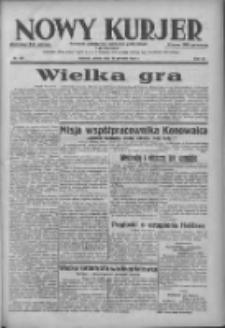 Nowy Kurjer: dziennik poświęcony sprawom politycznym i społecznym 1938.08.20 R.49 Nr189