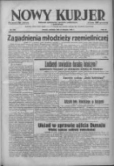 Nowy Kurjer: dziennik poświęcony sprawom politycznym i społecznym 1938.08.21 R.49 Nr190