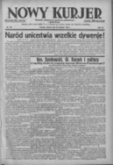 Nowy Kurjer: dziennik poświęcony sprawom politycznym i społecznym 1938.08.23 R.49 Nr191
