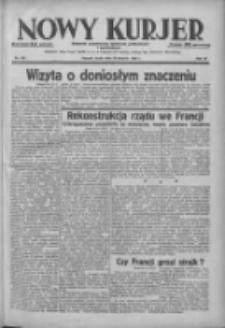 Nowy Kurjer: dziennik poświęcony sprawom politycznym i społecznym 1938.08.24 R.49 Nr192