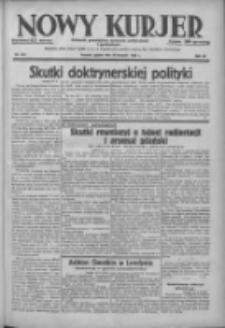 Nowy Kurjer: dziennik poświęcony sprawom politycznym i społecznym 1938.08.26 R.49 Nr194