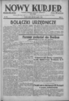 Nowy Kurjer: dziennik poświęcony sprawom politycznym i społecznym 1938.08.27 R.49 Nr195