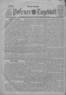 Posener Tageblatt 1904.04.03 Jg.43 Nr157