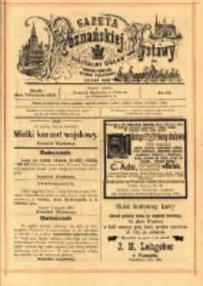 Gazeta Poznańskiej Wystawy : oficyalny organ Prowincyonalnej Wystawy Przemysłowej. 1895 nr14