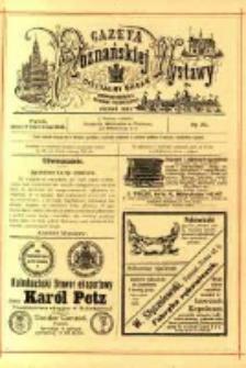 Gazeta Poznańskiej Wystawy : oficyalny organ Prowincyonalnej Wystawy Przemysłowej. 1895 nr20