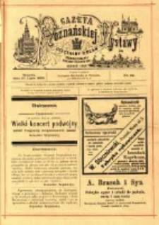 Gazeta Poznańskiej Wystawy : oficyalny organ Prowincyonalnej Wystawy Przemysłowej. 1895 nr52