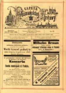 Gazeta Poznańskiej Wystawy : oficyalny organ Prowincyonalnej Wystawy Przemysłowej. 1895 nr57