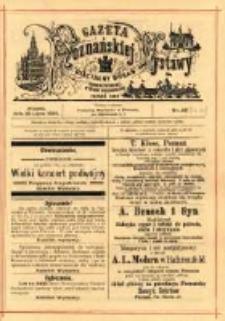 Gazeta Poznańskiej Wystawy : oficyalny organ Prowincyonalnej Wystawy Przemysłowej. 1895 nr59