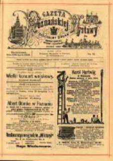 Gazeta Poznańskiej Wystawy : oficyalny organ Prowincyonalnej Wystawy Przemysłowej. 1895 nr72