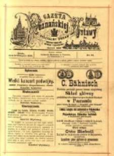 Gazeta Poznańskiej Wystawy : oficyalny organ Prowincyonalnej Wystawy Przemysłowej. 1895 nr81