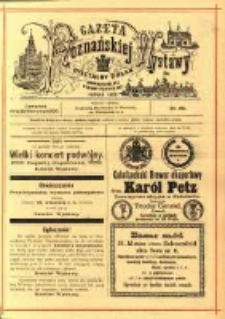 Gazeta Poznańskiej Wystawy : oficyalny organ Prowincyonalnej Wystawy Przemysłowej. 1895 nr96