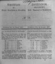 Amtsblatt der Königlichen Preussischen Regierung zu Bromberg. 1841.08.26 No.34