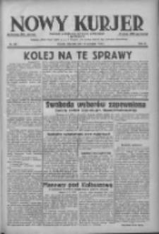 Nowy Kurjer: dziennik poświęcony sprawom politycznym i społecznym 1938.09.11 R.49 Nr208