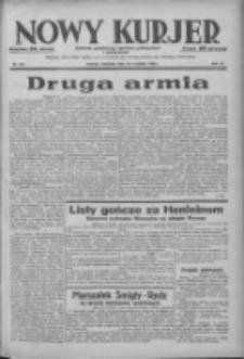 Nowy Kurjer: dziennik poświęcony sprawom politycznym i społecznym 1938.09.18 R.49 Nr214
